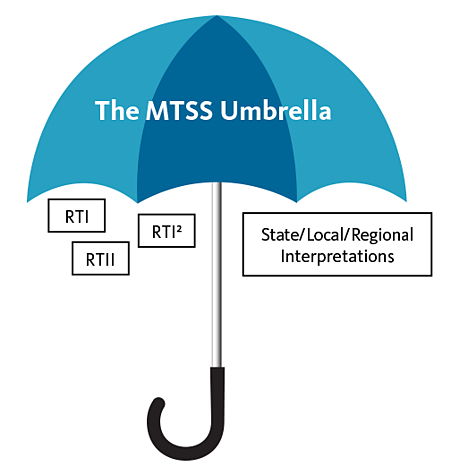 The MTSS Umbrella - RTI, RTII, RTI2, State/Local/Regional Interpretations