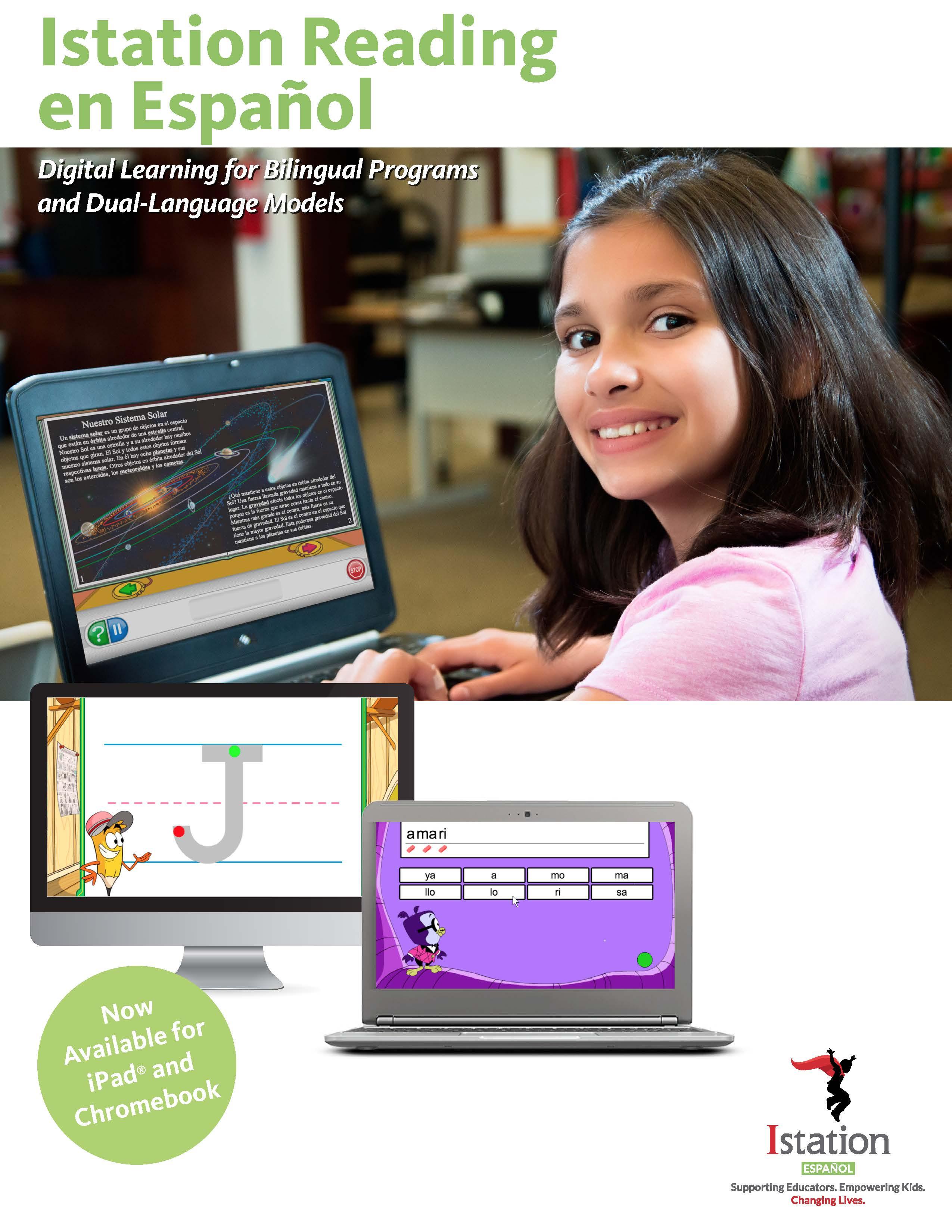 Istation Essentials: Math, Reading, Spanish eBrochure